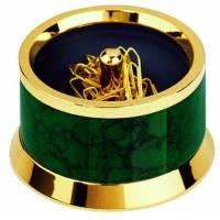 Подставка для скрепок магнитная Laque De Chine Carrara Green Lerche 36055