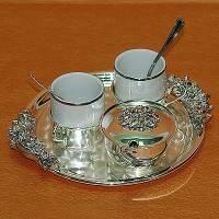 "Кофейный набор на 2 персоны ""You ahd Me"" Chinelli 2053106"
