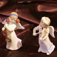 """Статуэтка """"Ангел с розами""""  Royal Copenhagen 1249415"""