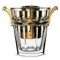 """Ведро для шампанского с золотым декором """"Harcourt"""" Baccarat 1893681"""