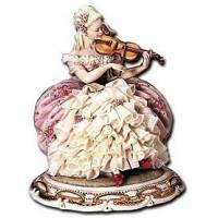 """Статуэтка """"Леди со скрипкой""""  Principe P1060"""