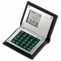 Калькулятор многофункциональный в кожаном футляре Dalvey dl426