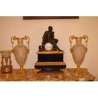 Часы каминные с фигурой Патрокла 13B63