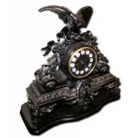 Часы каминные с навершием в виде орла 5B23