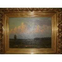 "Картина ""Пейзаж с облаками"" (Шультце И.Ф.) 13ZH112"