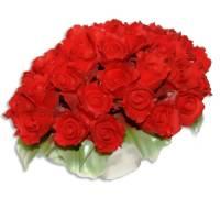 Декоративная корзина Artigiano Capodimonte 0210/27/red