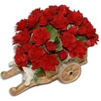 Декоративная тележка Artigiano Capodimonte 0210/25/red