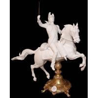 """Скульптура """"Драгун на коне"""" 519/4/TICHE"""