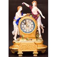 "Часы ""Две девушки"" 787/TICHE"