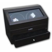Шкатулка для 4 часов с автоподзаводом (хранение и подзавод) Luxewood LW622-5