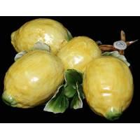 """Декоративная веточка """"Круглые лимоны"""" Artigiano Capodimonte F/014"""