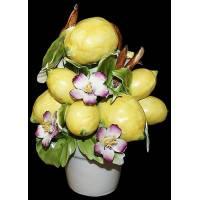 "Декоративное растение ""Лимонное дерево"" Artigiano Capodimonte 2011/29"