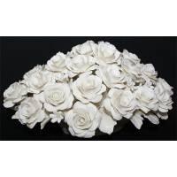 Декоративная корзина с розами Artigiano Capodimonte 0210/18