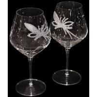 """Набор бокалов для вина """"King Flower"""" Chinelli 3077400"""