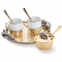 Кофейный набор на 2 персоны Chinelli 6053106
