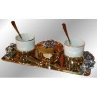 Кофейный набор на 2 персоны Chinelli 6053006