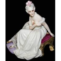 """Статуэтка """"Дама в кресле"""" Elite & Fabris 180B/EL"""