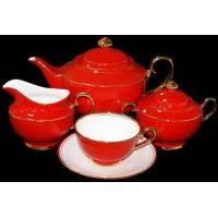 """Чайный сервиз на 6 персон """"Классика"""" Glance GS2-002/GGK-A-15"""