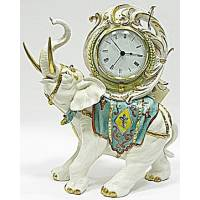 "Часы ""Слон"" Porcellane Principe 404/PP"