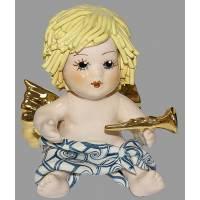 "Статуэтка ""Купидон со светлыми волосами с трубой"" Zampiva 93051/Z"