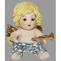 "Статуэтка ""Купидон со светлыми волосами с трубой"" Zampiva 93043/Z"