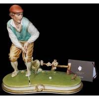 """Статуэтка """" Игрок в гольф"""" Porcellane Principe 694/PP"""
