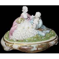"Статуэтка ""Влюблённые"" Porcellane Principe 1081/PP"