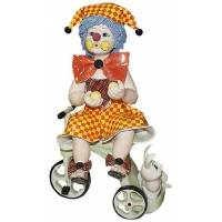 """Статуэтка """"Клоун на велосипеде"""" Zampiva 20035/Z"""
