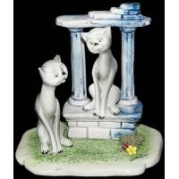"""Статуэтка """"Кот и кошка на свидании"""" Zampiva 91064/Z"""