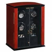 Шкатулка для 4 часов с автоподзаводом (хранение и подзавод) Luxewood LW224RW