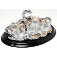 """Набор для водки """"Змея с монетами"""" Chinelli 2971"""