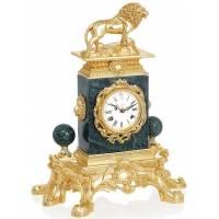 Настольные часы со львом Linea Argenti ORO823VORO