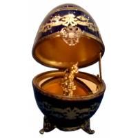 """Яйцо """"Кошка"""" Faberge 1518S"""