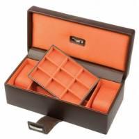 Шкатулка для 2 часов и запонок Dulwich LC Designs Co. Ltd. 70282