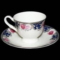 """Набор для кофе на 6 персон """"Розы"""" Glance J11-193WS-12C"""