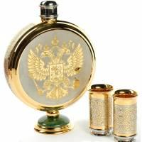 "Набор для водки ""Герб РФ"" Златоуст RV14369CG"