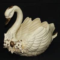 "Ваза для фруктов ""Лебедь"" Ceramiche Ferraro F 458"