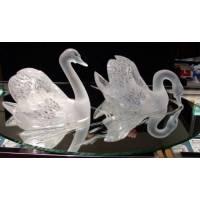 Два лебедя на зеркале Lalique 1161700