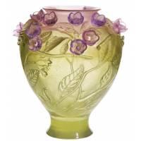Ваза для цветов Cerisier Daum 03933