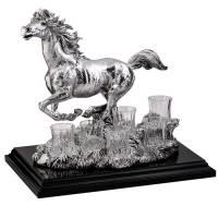 "Набор для водки ""Бегущая лошадь"" Chinelli 2100800"