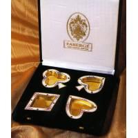 "Набор пепельниц ""Card-Suit"" FABERGE 6502"