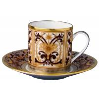 """Чашка с блюдцем для кофе """"Boulle"""" BERNARDAUD 79Boulle"""