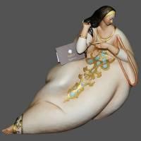 """Статуэтка """"Дама с расчёской"""" Porcellane Principe 304/PP"""