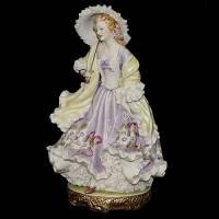 "Статуэтка ""Леди в шале"" Porcellane Principe 1063/PP"