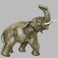 """Статуэтка """"Маленький слонёнок"""" Porcellane Principe 1007/PP"""