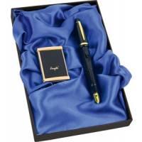 "Набор: ручка-зажигалка, пепельница ""Акра"" 450607"