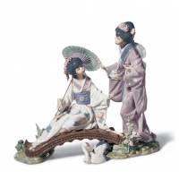"Статуэтка ""Весна в Японии"" Lladro 01001445"