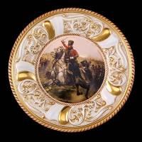 Декоративная тарелка Ahura 1512/PЕ/DCO