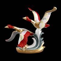 "Статуэтка ""Летающие гуси"" Ahura 0474/COL"