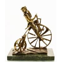 """Скульптура """"Велосипедист"""" Авторские работы RV10590CG"""